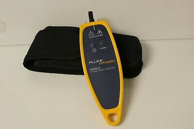Fluke Networks Visifault Visual Fault Locator Tested - No Batteries Included