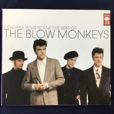 THE BLOW MONKEYS - DIGGING YOUR SCENE - CD ALBUM our ref 1670