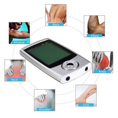 Rechargeable Tens Machine Digital Therapy Full Massager Pain Relief Acupuncture