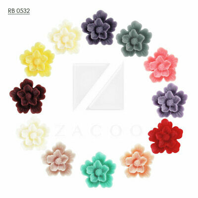 100 Self Covered Buttons 45mm Self Cover FLAT Back Flatbacks DIY Button Size 75L