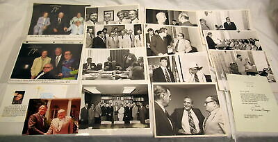 Enorme Vintage Lote de 40 + Photos-Documents-Letters de Milton & Joan Stewart