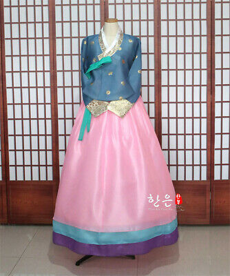 Korea Imported Fabric / New Improved Hanbok / Bride Hanbok / Fine Hanbok