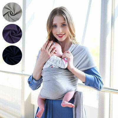 Baby Sling Infant Carrier Newborn Wrap Breastfeeding Papoose Pouch BIRTH TO 3YRS