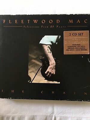 Fleetwood Mac - The Chain (Selections From 25 Years) - 2 x CD Album + booklet