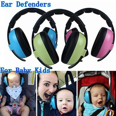 Baby Kids Folding Ear Defenders Muffs Noise Reduction Plug Protectors Children ✅