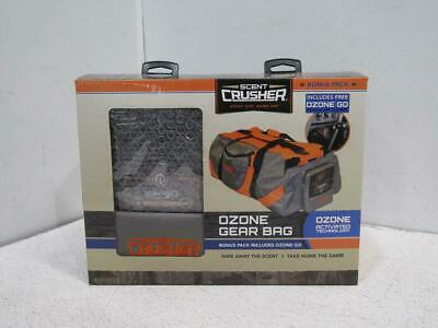 Scent Crusher Ozone Gear Bag - Gray/Orange