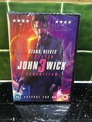 John Wick: Chapter 3 - Parabellum [2019] (DVD) Keanu Reeves new sealed free post