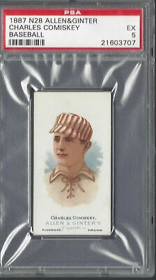 Allen & Ginter - The World's Champions N28 - Charles Comiskey, Baseball - Psa 5