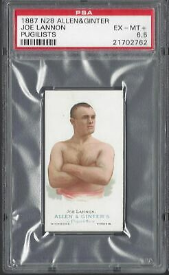 Allen & Ginter - The World's Champions N28 - Joe Lannon, Pugilist - Psa 6.5
