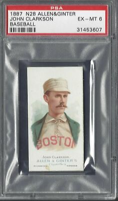 Allen & Ginter - The World's Champions N28 - John Clarkson, Baseball - Psa 6