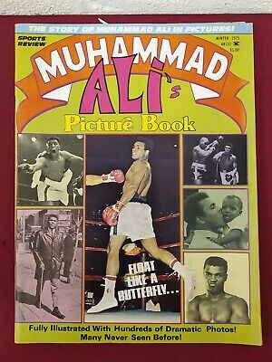 Muhammad Ali's Picture Book Sports Review magazine 1975