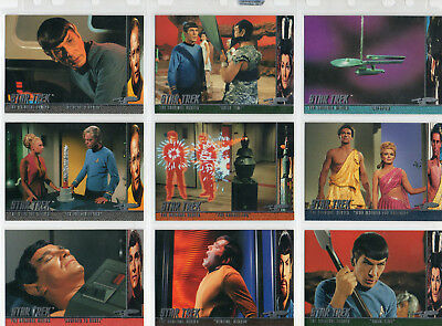 Star Trek TOS Season 2 - Lot Of 18 Behind The Scenes chase cards EX Skybox 1998
