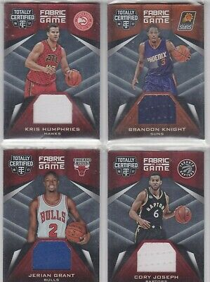 Kris Humphries (Hawks) 16/17 Certified Fabric of the Game Jersey-Card