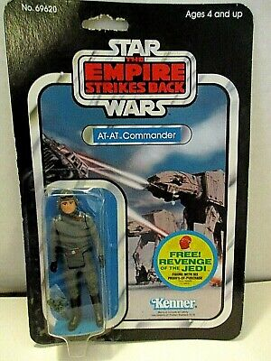 Star Wars Empire Strikes Back AT-AT Commander  Unopened 1982 Excellent Condition