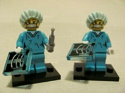 LEGO Collectable MiniFigure Series 6 ~~ Surgeon ~~SET of 2