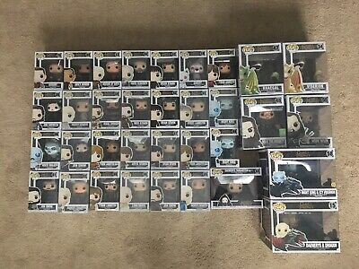 Funko Pop Game of Thrones Lot 34 Total - Rare, Vaulted, Exclusives