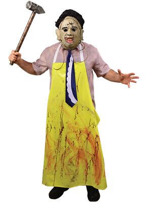Authentic THE TEXAS CHAINSAW MASSACRE Leatherface Adult Costume X-Large NEW