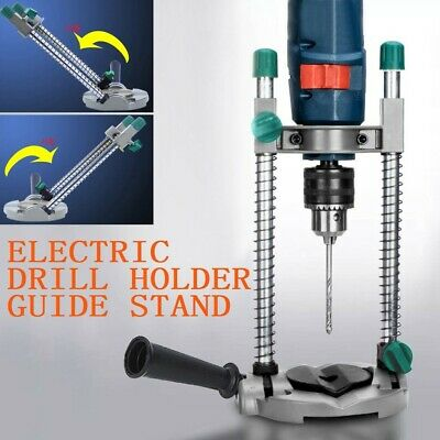 Adjustable Angle Drill Guide Stand Positioning Bracket for Electric Drill Holder