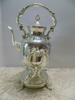 Silverplate Tilting Coffee Warmer Server Pilgrim Vintage
