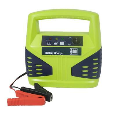 12V 4Amp Car Van Motorbike Battery Charger Easy to Read 3-Step LED / Up to 50Ah