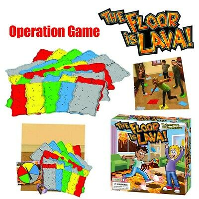 The Floor is Lava! Interactive Board Game for Kids and Adults (Ages 5+) Fun 2019