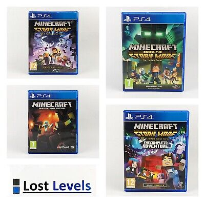 Ps4 - Minecraft Series - Same Day Dispatched - Boxed - VGC - Playstation
