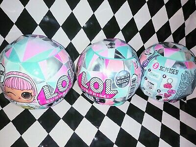 LOL Surprise Winter Disco Series LILS Glitter Globe IN HAND Fast/Free Shipping!