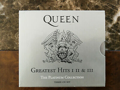 Queen Greatest Hits I, II and III Platinum Collection CD