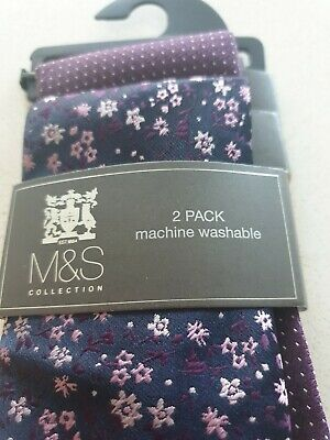 BNWT Marks and Spencer Ties Two Pack