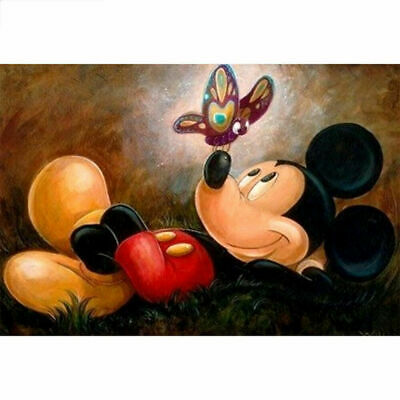 "Diamond Painting - Diamant Malerei - Stickerei - ""Mickey Maus - Vollbild"" (3172)"