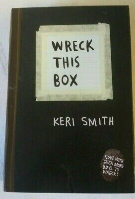 Wreck This Box - 3 Book Set by Keri Smith Mess This is Not a Book Journal
