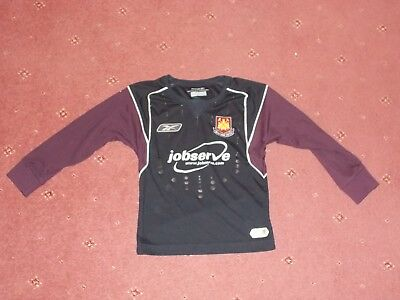 West Ham United long sleeve football shirt 22/24