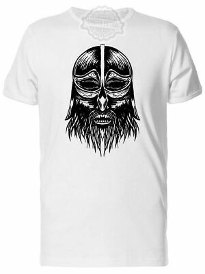 New Ancient Viking Head Men's Tee -Image By Shutterstock Usa Size