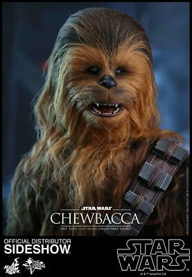 Hot Toys Movie Masterpiece Series Sixth Scale Force Awakens Chewbacca NO RESERVE
