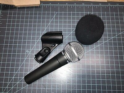 Shure SM58-LC Dynamic Wired XLR Professional Microphone