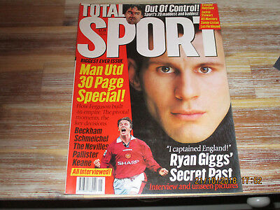 Total Sport Magazine 17 Sports Monthly Manchester United Ryan Giggs May 1997