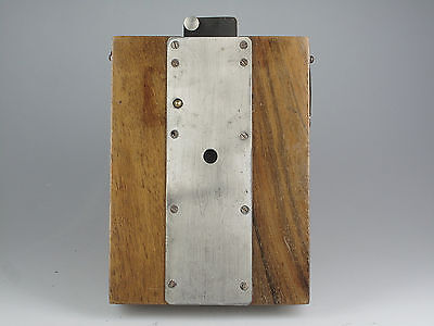 Old Bellows Camera/Pinhole Camera from Wood 74670
