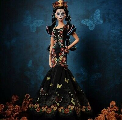 Barbie Dia De Los Muertos Doll 2019 Day of The Dead Barbie Sold Out Preorder