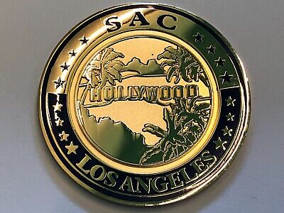 Los Angeles SAC ICE Challenge Coin