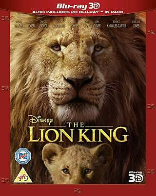 THE LION KING 3D + 2D Blu-ray PRE-ORDER, Region Free, Ships 11/22