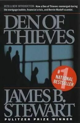 NEW Den of Thieves By James B. Stewart Paperback Free Shipping