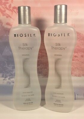 2 Huge Biosilk Silk Therapy Cure Soyeuse, 12 Oz Each 24 Oz Free Priority Ship
