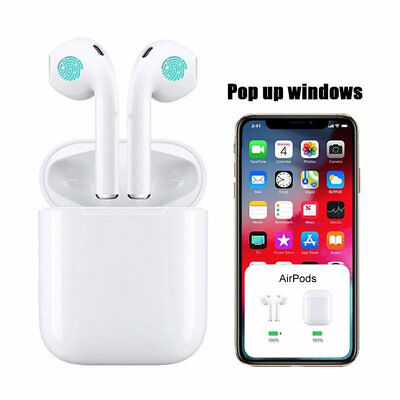 Earpods Wireless Bluetooth Headphones Headset Earbuds iPhone Androids Samsung