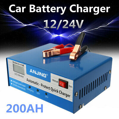 12/24V Car Battery Charger Intelligent Automatic Pulse Repair lead acid