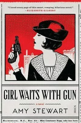 NEW Girl Waits With Gun By Amy Stewart Paperback Free Shipping