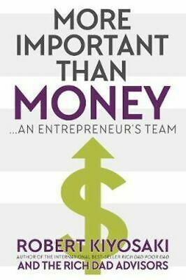 NEW More Important Than Money By Robert Kiyosaki Paperback Free Shipping