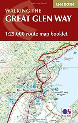 The Great Glen Way Map Booklet: 1:25,000 OS Route Mapping (Cicerone Guide) by ,