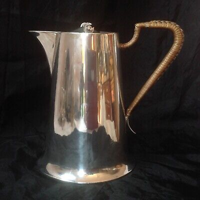Art & Crafts Period, Walker & Hall Silver Plated Hot Water / Milk Jug.