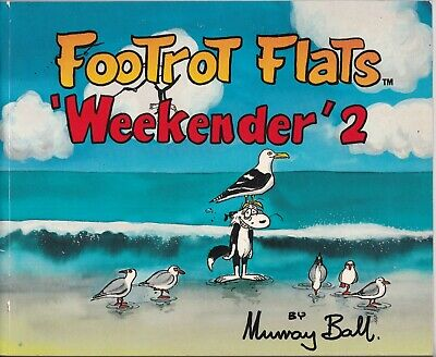 "The Footrot Flats Weekender #2 1989 ""Classic Series by Murray Ball"" NICE COPY"