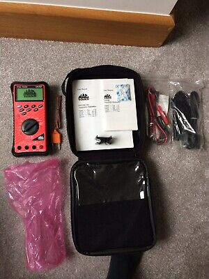 Brand New Mac Tools Digital Multimeter EM710 Complete With Carry case
